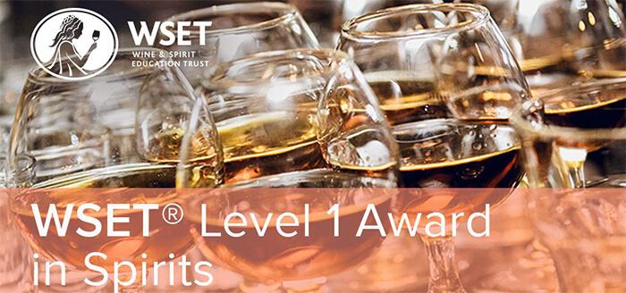 Level 1 Award in Spirits