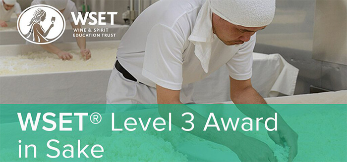 Level 3 Award in Sake